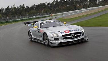Mercedes SLS AMG GT3 Front