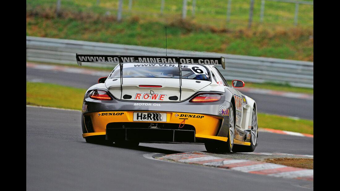 Mercedes SLS AMG GT3, Heck