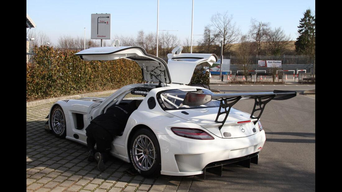 Mercedes SLS AMG GT3, Rennwagen, Nürburgring