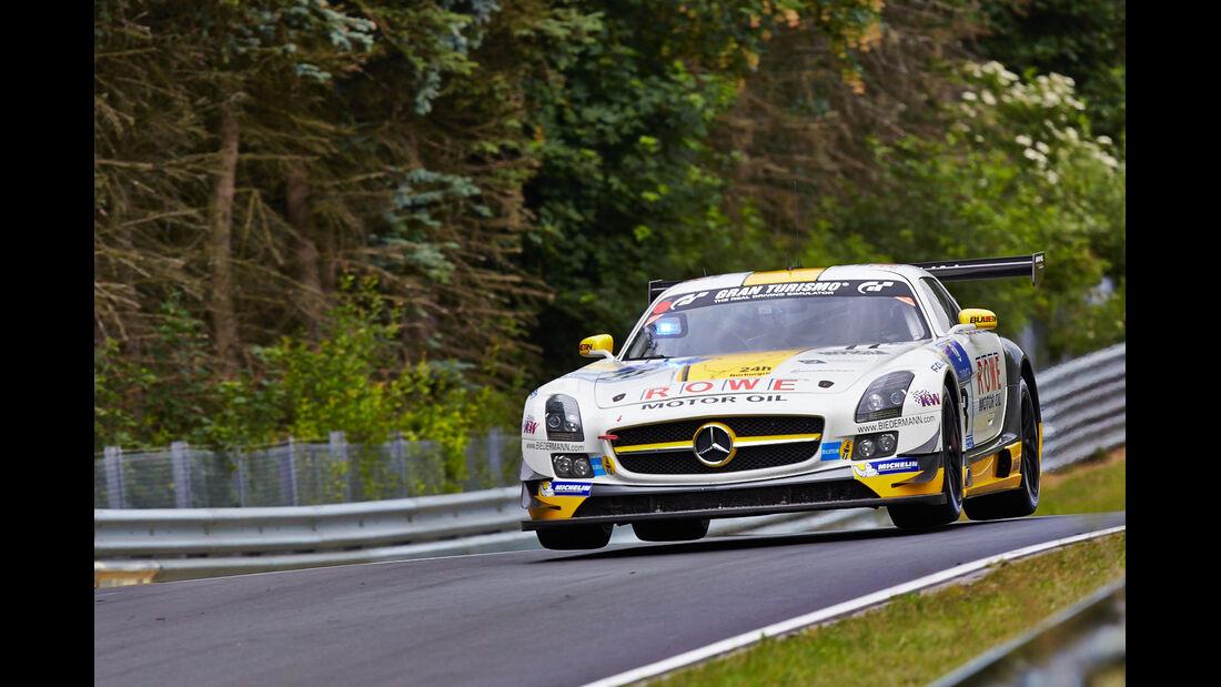 Mercedes SLS AMG GT3 - Rowe Racing - 24h-Rennen Nürburgring 2014 - Top-30-Qualifying