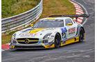 Mercedes SLS AMG GT3 - Rowe Racing - Startnummer: #23 - Bewerber/Fahrer: Klaus Graf, Jan Seyffarth, Thomas Jäger, Richard Göransson - Klasse: SP9 GT3