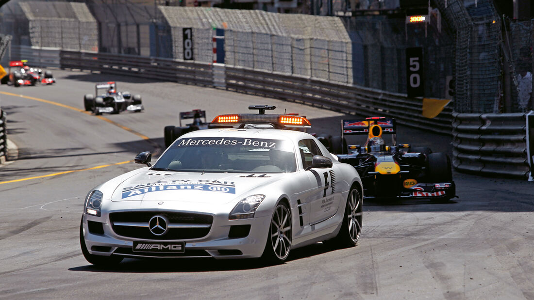 Mercedes SLS AMG GT3, Safety Car, Formel 1, Frontansicht