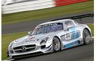 Mercedes SLS AMG GT3, Seitenansicht