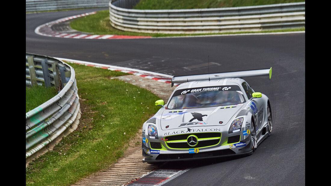 Mercedes SLS AMG GT3 - Startnummer #2 - 24h-Rennen Nürburgring 2015 - Donnerstag - 14.5.2015