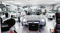 Mercedes SLS AMG GT3, Werkstatt, Kundensportprogramm