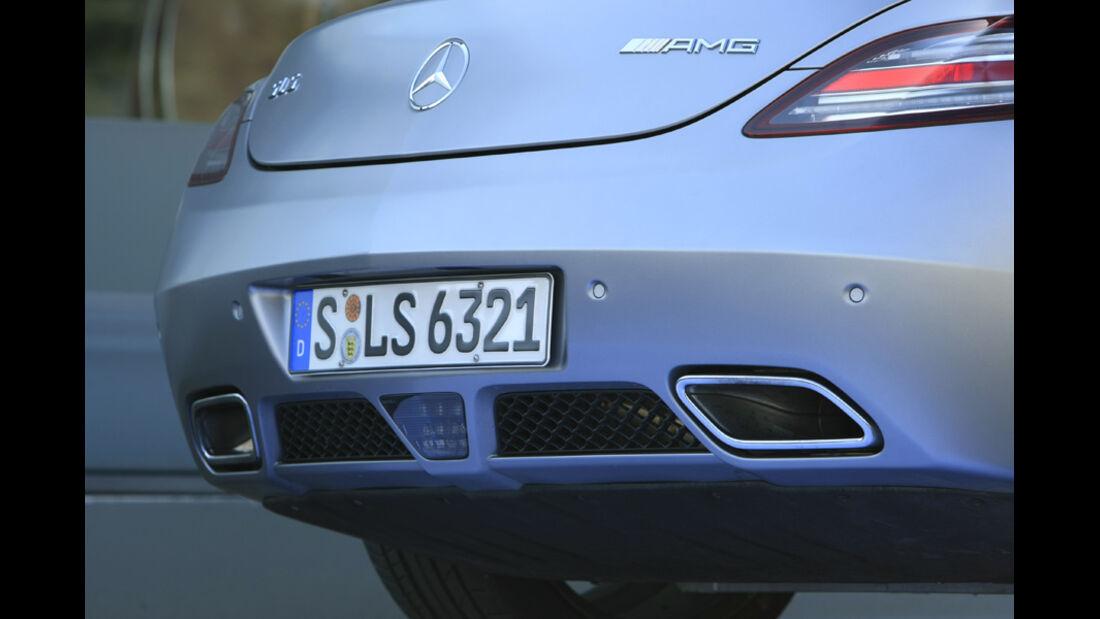 Mercedes SLS AMG Heckpartie