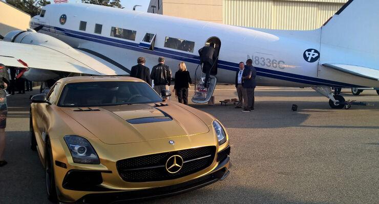 Mercedes SLS AMG - McCall's Motorworks Rivival - Monterey - Pebble Beach 2016