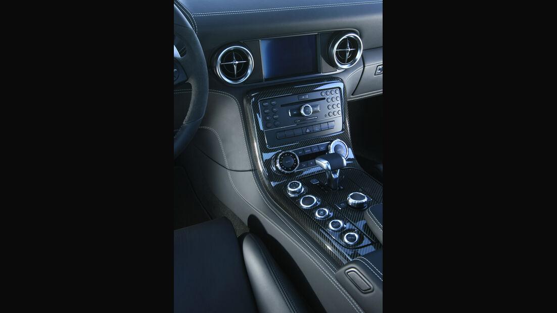 Mercedes SLS AMG Mittelkonsole