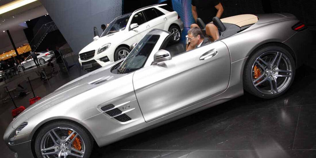 Mercedes SLS AMG Roadster IAA
