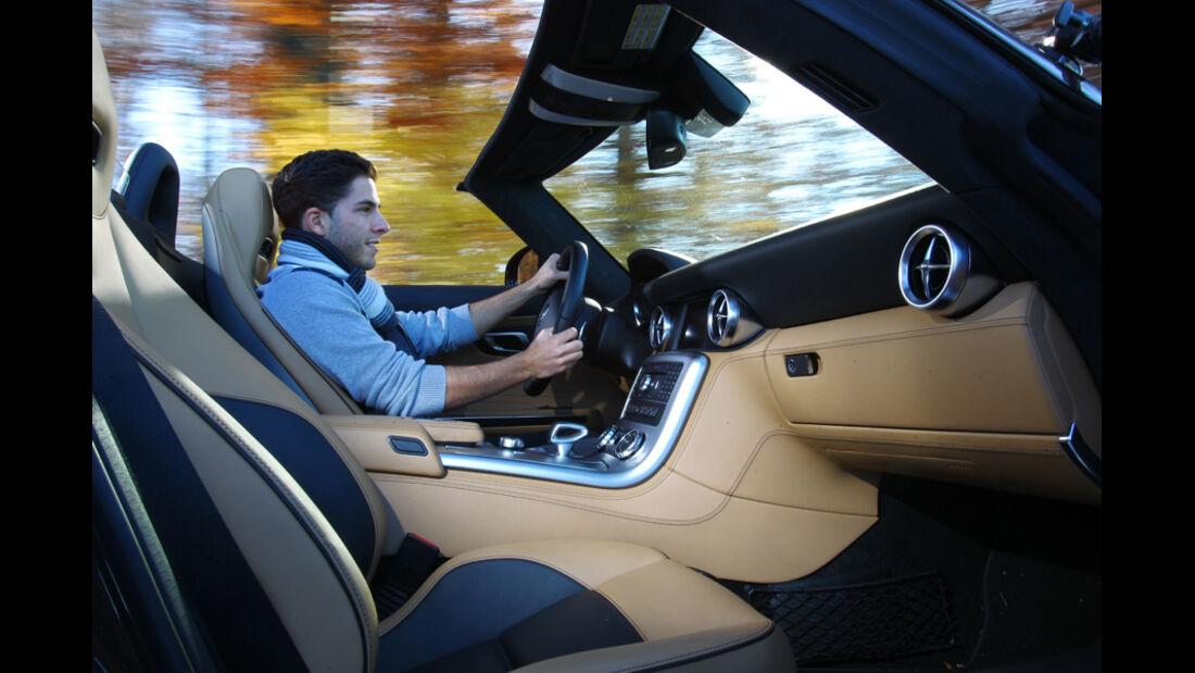 Mercedes SLS AMG Roadster, Innenraum