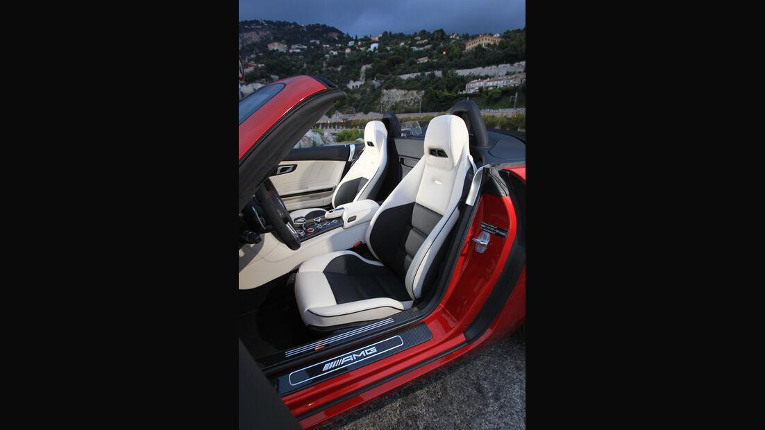 Mercedes SLS AMG Roadster, Sitze