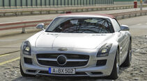 Mercedes SLS AMG Roadster getarnt