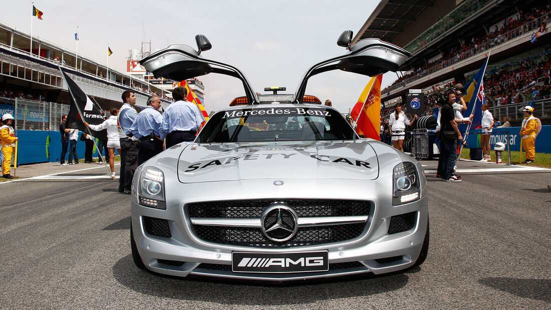 Mercedes SLS AMG - Safety Car - GP Spanien 2010 - Barcelona