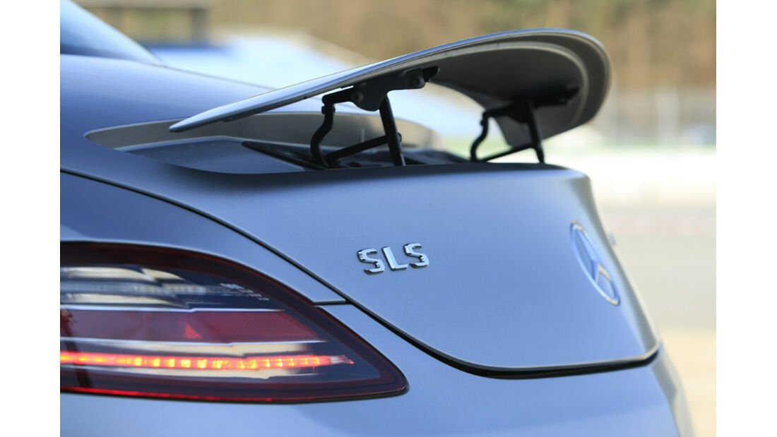 Mercedes SLS AMG Spoiler