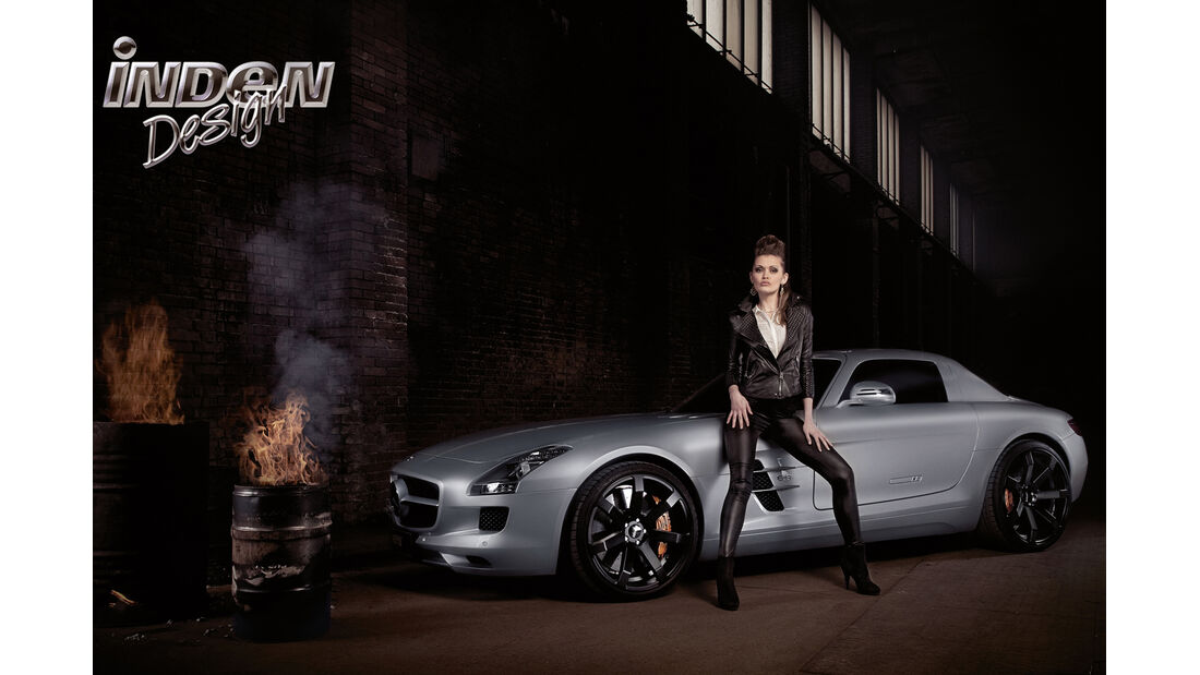 Mercedes SLS AMG, Tuning, Inden Design