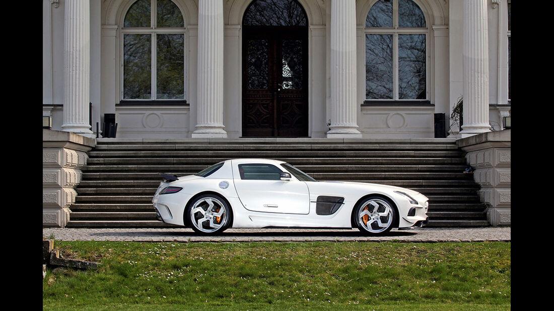 Mercedes SLS AMG, Tuning, SGA Aerodynamics