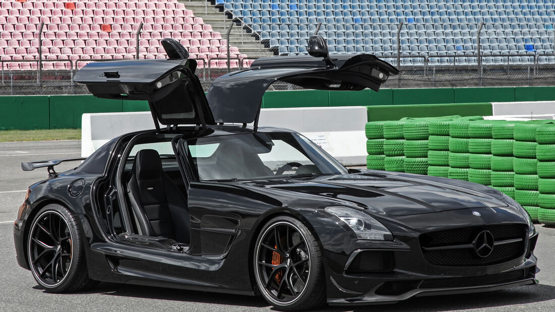 Mercedes SLS AMG - Umbau Black Series - Tuning - Inden Design