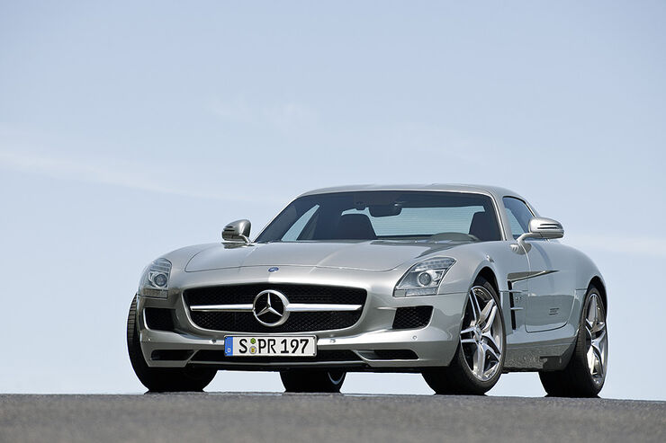 mercedes sls auto motor und sport. Black Bedroom Furniture Sets. Home Design Ideas