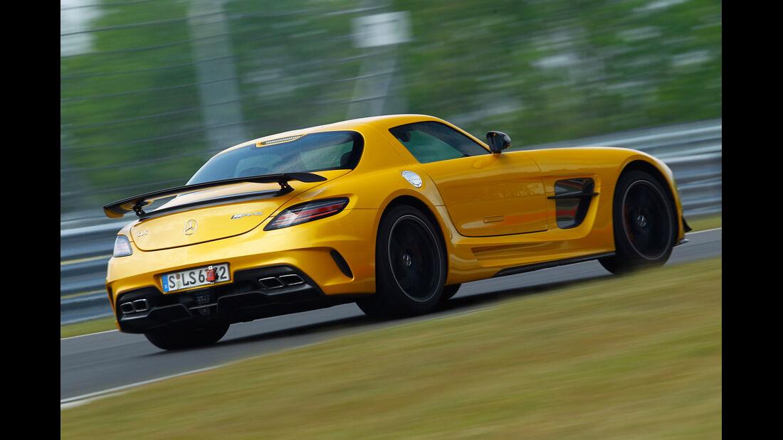 Mercedes SLS Black Series, Heckansicht