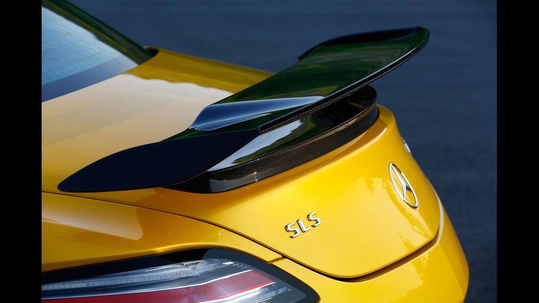 Mercedes SLS Black Series, Heckspoiler