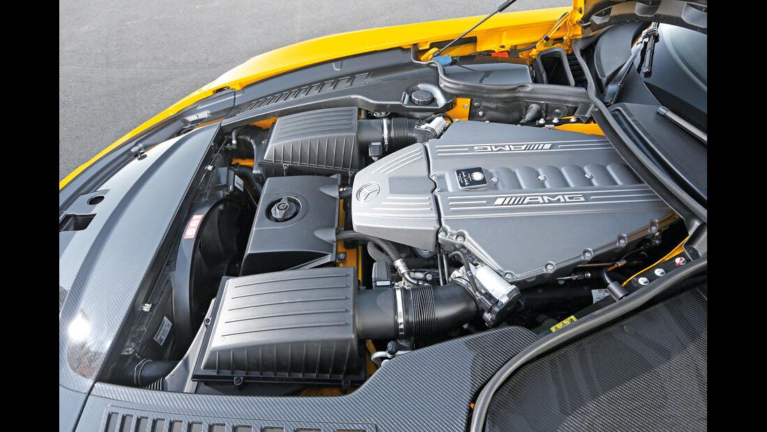 Mercedes SLS Black Series, Motor