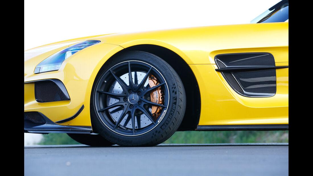 Mercedes SLS Black Series, Rad, Felge, Bremse