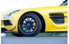 Mercedes SLS Black Series, Rad, Felge, Bremse