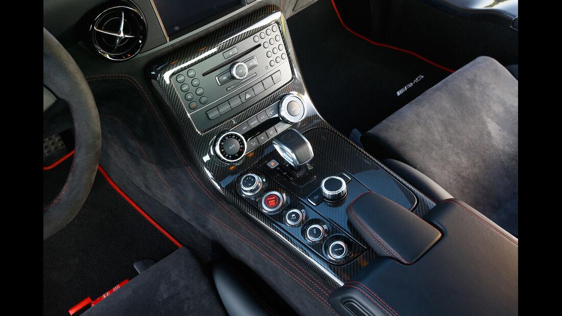 Mercedes SLS Black Series, Schalthebel