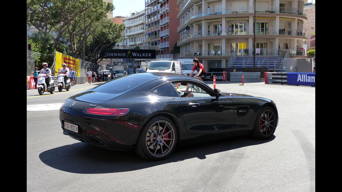 Mercedes SLS -  Carspotting - Formel 1 - GP Monaco 2015