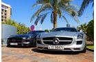 Mercedes SLS - F1 Abu Dhabi 2014 - Carspotting