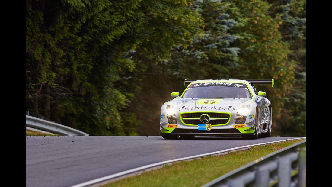 Mercedes SLS GT3 AMG - HTTP Motorsport - 24h-Rennen Nürburgring 2014 - Top-30-Qualifying