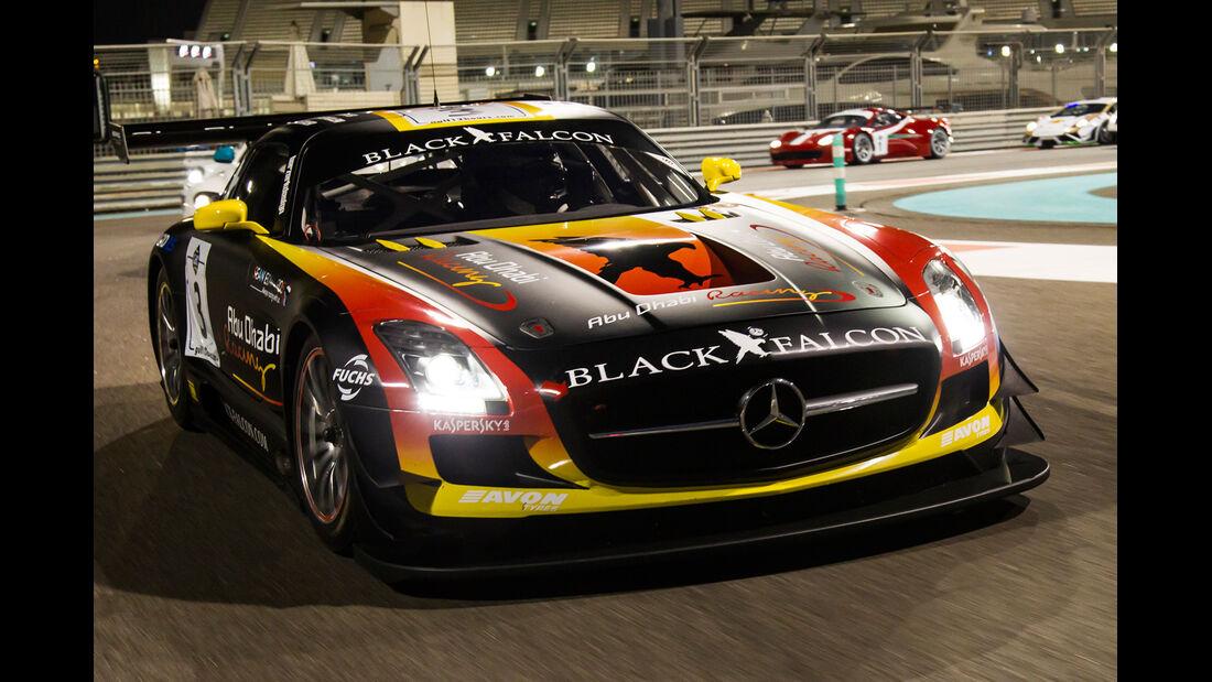 Mercedes SLS GT3, Frontansicht