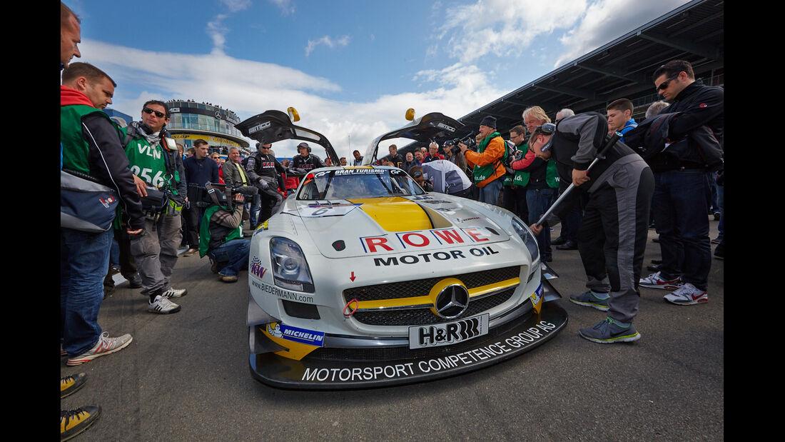 Mercedes SLS - Rowe Racing  -VLN Nürburgring - 7. Lauf - 23. August 2014