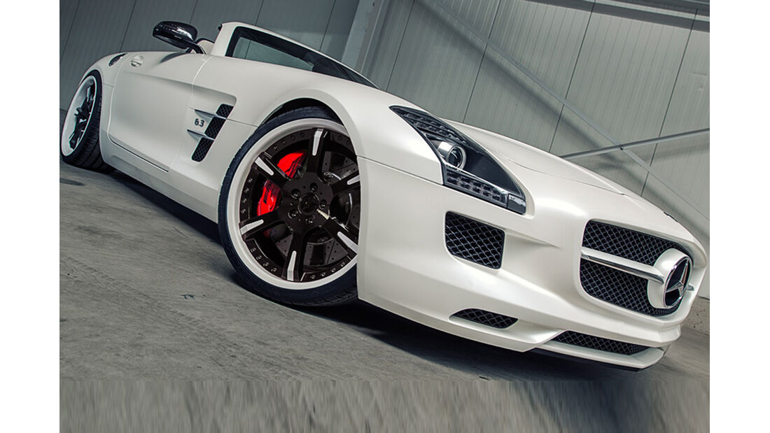 Mercedes SLS, Tuning, Roadster, wheelsandmore