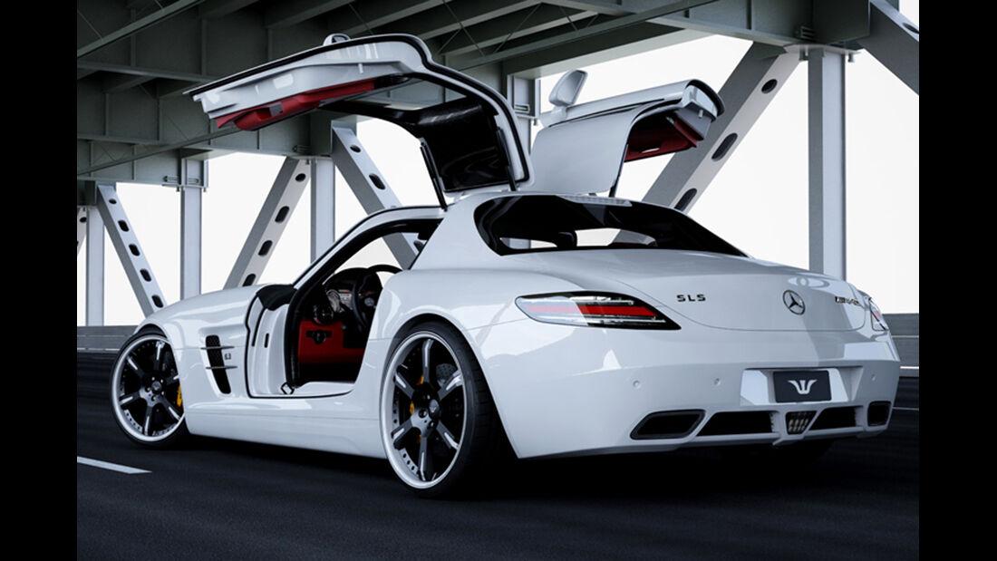 Mercedes SLS, Tuning, wheelsandmore