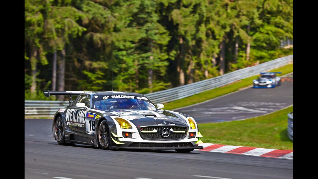 Mercedes SLS  - VLN Nürburgring - 6. Lauf - 2. August 2014