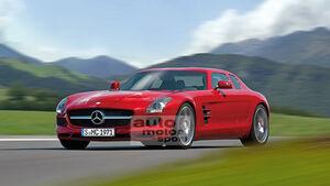 Mercedes SLS Viertürer