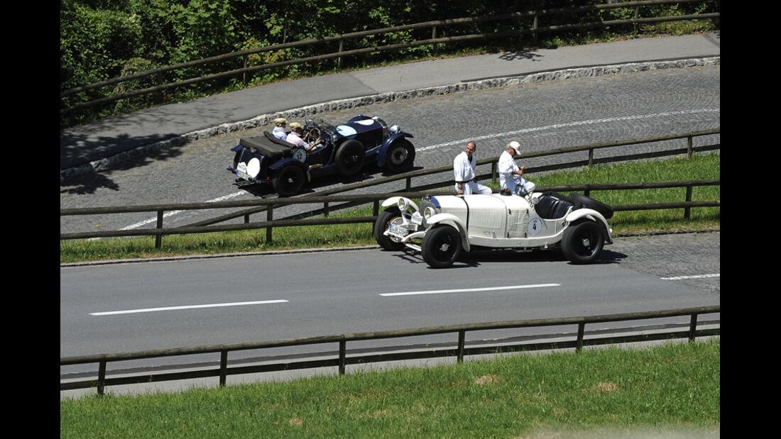 Mercedes SSK -  Silvretta Classic 2010