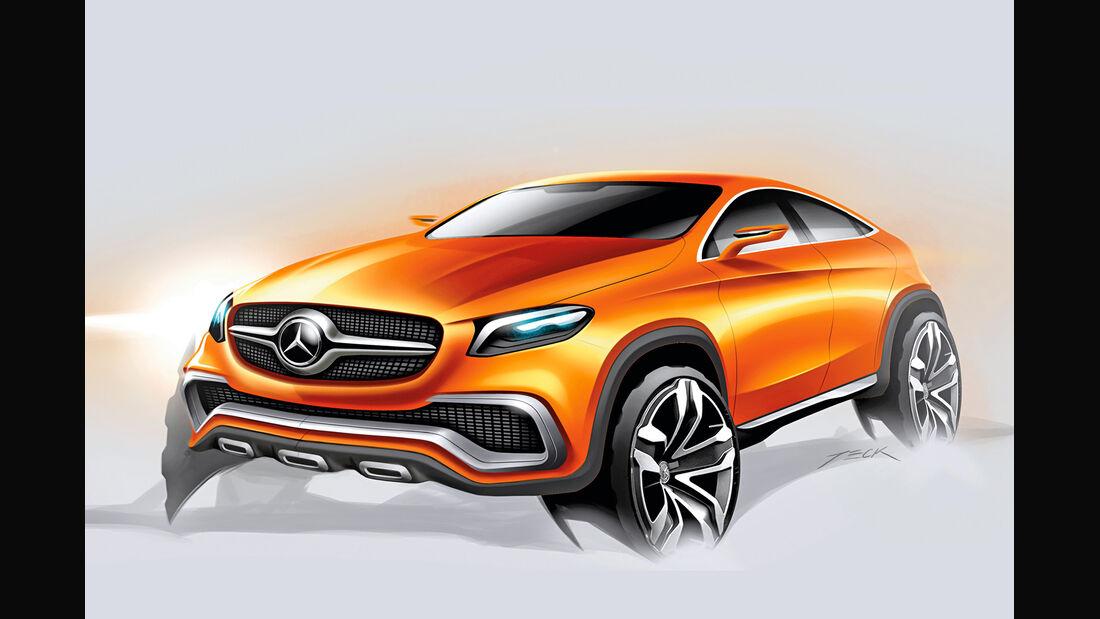 Mercedes SUV, Studie