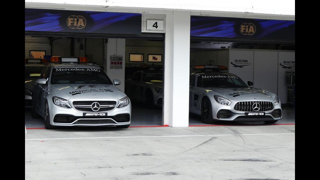 Mercedes - Safety Car - Medical Car - GP Ungarn 2017 - Budapest - Formel 1 - Mittwoch - 26.7.2017