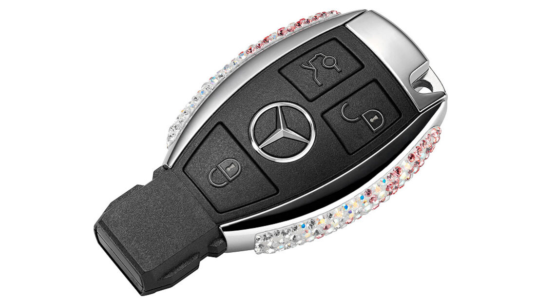 Mercedes Schlüssel Swarowski