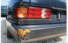 Mercedes, Schutzblech