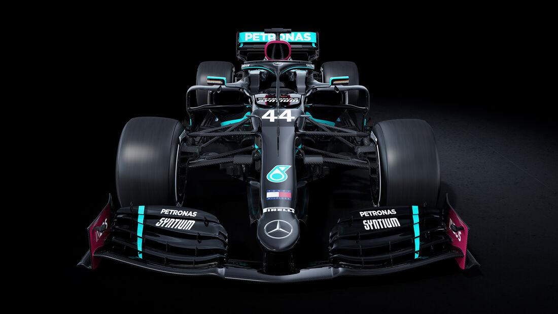 Formel 1 Mercedes Schwarz