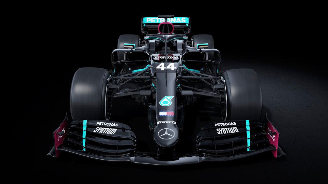 Mercedes - Schwarze Lackierung - W11 - 2020