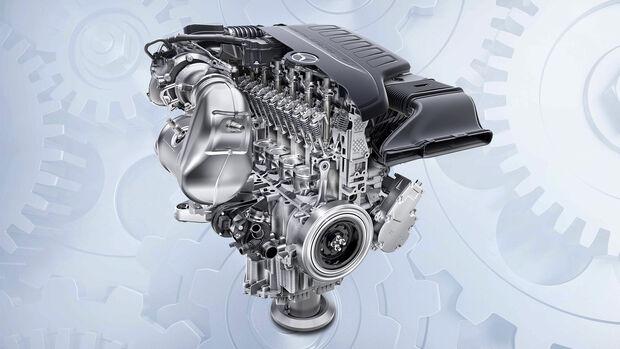 Mercedes-Sechszylinder, Motor