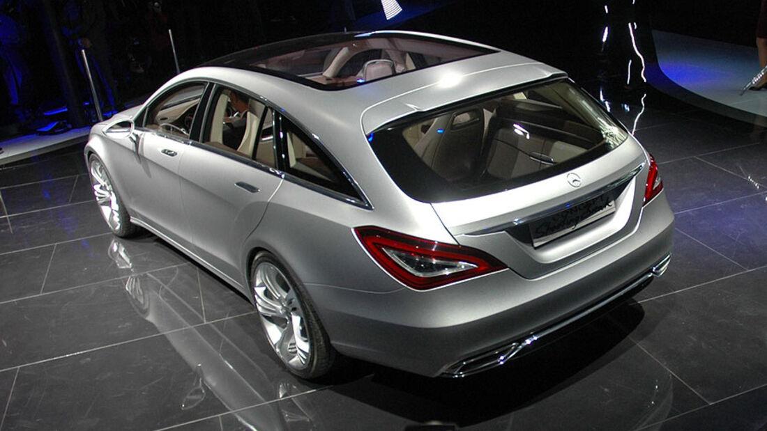 Mercedes Shooting Break auf der Auto China 2010
