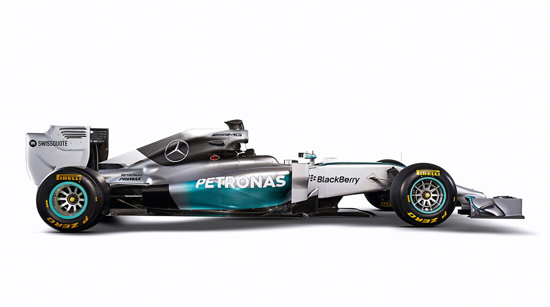 Mercedes-Silberpfeile, AMG W05