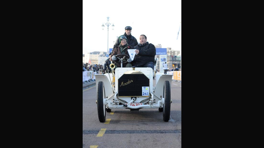 Mercedes-Simplex, 1902 mobilisiert 40 PS, Tony Dron, Michael Plag