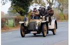 Mercedes-Simplex-Tourenwagen, Mass und sein Copilot