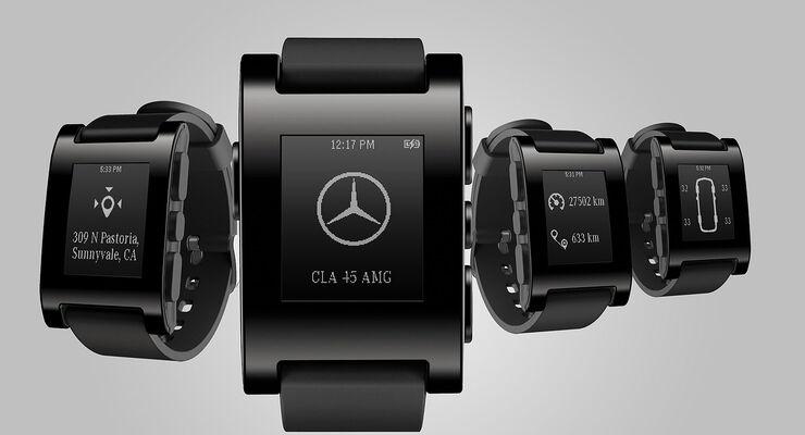Mercedes Smartwatch, Armbanduhr